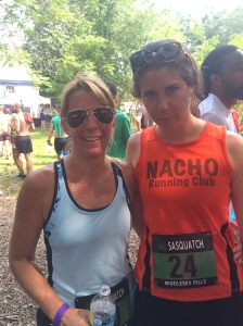I was told to give the Jake face (my cousin doesn't smile in post race pictures).